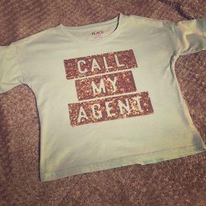 Girls cropped T Shirt